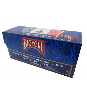 Cartouche de 12 jeux Bicycle standard de 55 cartes - Réf. 808