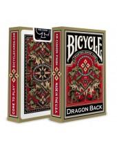 Jeu Gold Dragon Back -  BICYCLE® 55 cartes