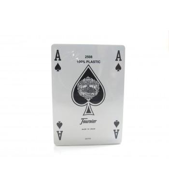 Jeu de 55 cartes 100 % plastiques - Réf. 2508