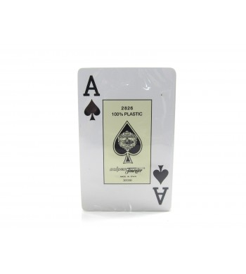 Jeu Réf 2826 Fournier - 100 % plastiques - 55 cartes