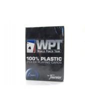 Jeu WPT de 55 cartes 100 % plastiques - Réf. WPT