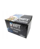 Cartouche jeux WPT de 55 cartes 100 % plastiques - Réf. WPT