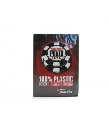 Jeu WSOB de 55 cartes 100 % plastiques - Réf. WSOB
