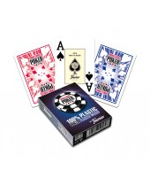 Jeu WSOP de 55 cartes 100 % plastiques - Réf. WSOP