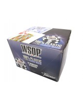 Cartouche de jeux WSOP de 55 cartes 100 % plastiques - Réf. WSOP