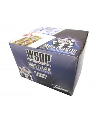 Jeux WSOB de 55 cartes 100 % plastiques - Réf. WSOP