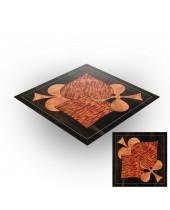 Tapis de jeux polyester - 60x60 - Wood