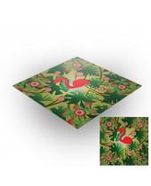 Tapis de jeux polyester - 60x60 - Jungle 1
