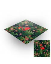 Tapis de jeux polyester - 60x60 - Jungle 2