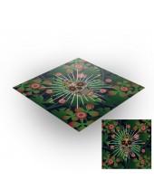 Tapis de jeux polyester - 60x60 - Jungle Calavera