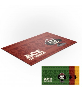 Tapis de jeux polyester - 40x60 - Ace Of Spade