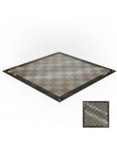 Tapis de jeux polyester - 60x60 - Jeu de dames steampunk