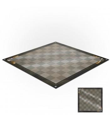 Tapis de jeux polyester - 60x60 - Jeu de dames