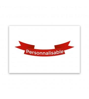 Tapis personnalisable - 60x40cm