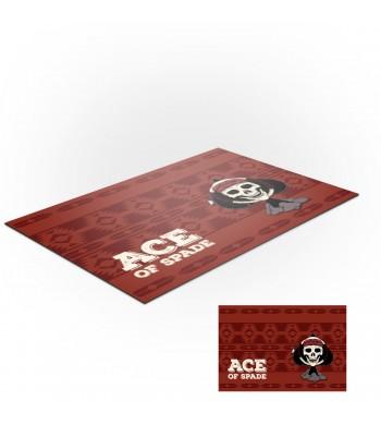 Tapis de jeux polyester - 150x90 - Ace Of Spade