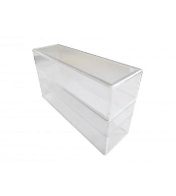 Boîte cristal transparente