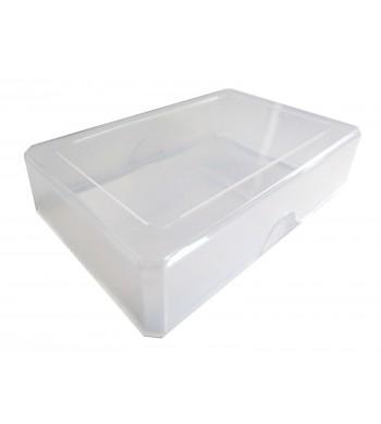 Boîte plastique souple transparente