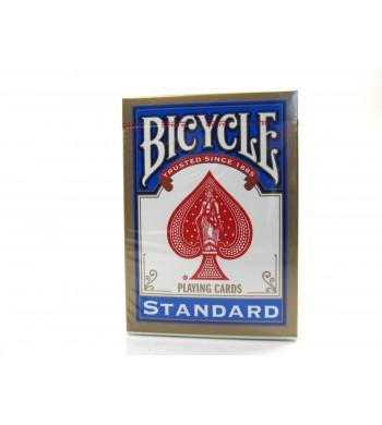 Jeu Réf. 808 Bicycle® standard - 55 cartes - dos rouge ou bleu