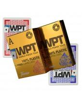 Jeu WPT GOLD EDITION - 100% plastique Jumbo Index FOURNIER