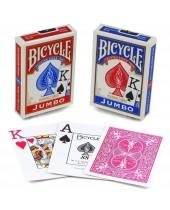 Jeu Réf. 88 Bicycle® Jumbo Index - 55 cartes