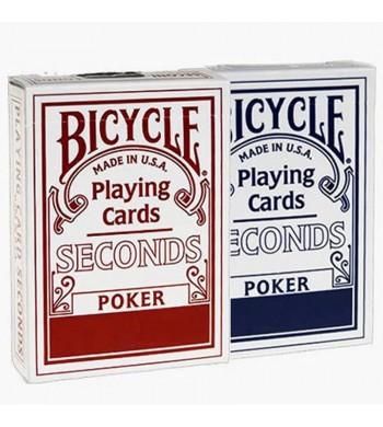 Jeu Bicycle Seconds - 55 cartes