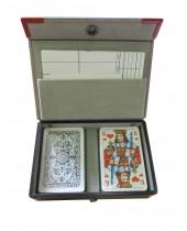 Coffret de luxe 2 jeux de cartes