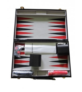 Coffret backgammon (backgammon koffer)