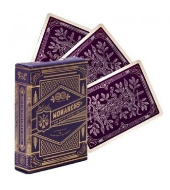 Jeu Monarchs Purple THEORY11 - cartes premium