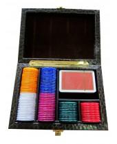 Coffret Hector Saxe jeu de cartes et jetons