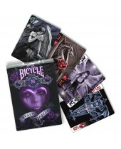 Jeu Dark Hearts - Anne Stockes BICYCLE® 55 cartes