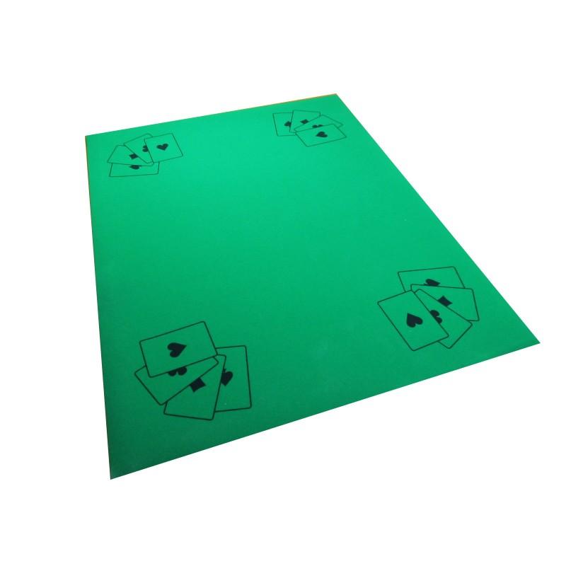 Carrelage Design le tapis vert : Tapis vert 45x58 cm - QUALIJEUX