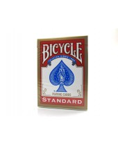 Jeu Bicycle standard de 55 cartes - dos rouge - Réf. 808