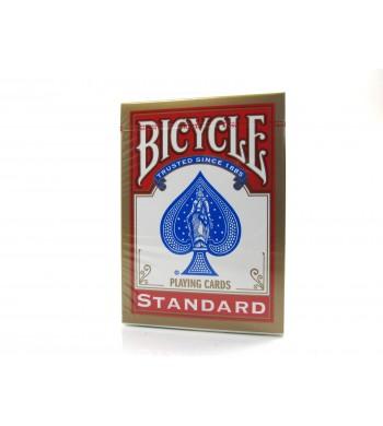 Jeu Bicycle standard de 55 cartes - Réf. 808 - dos rouge ou bleu