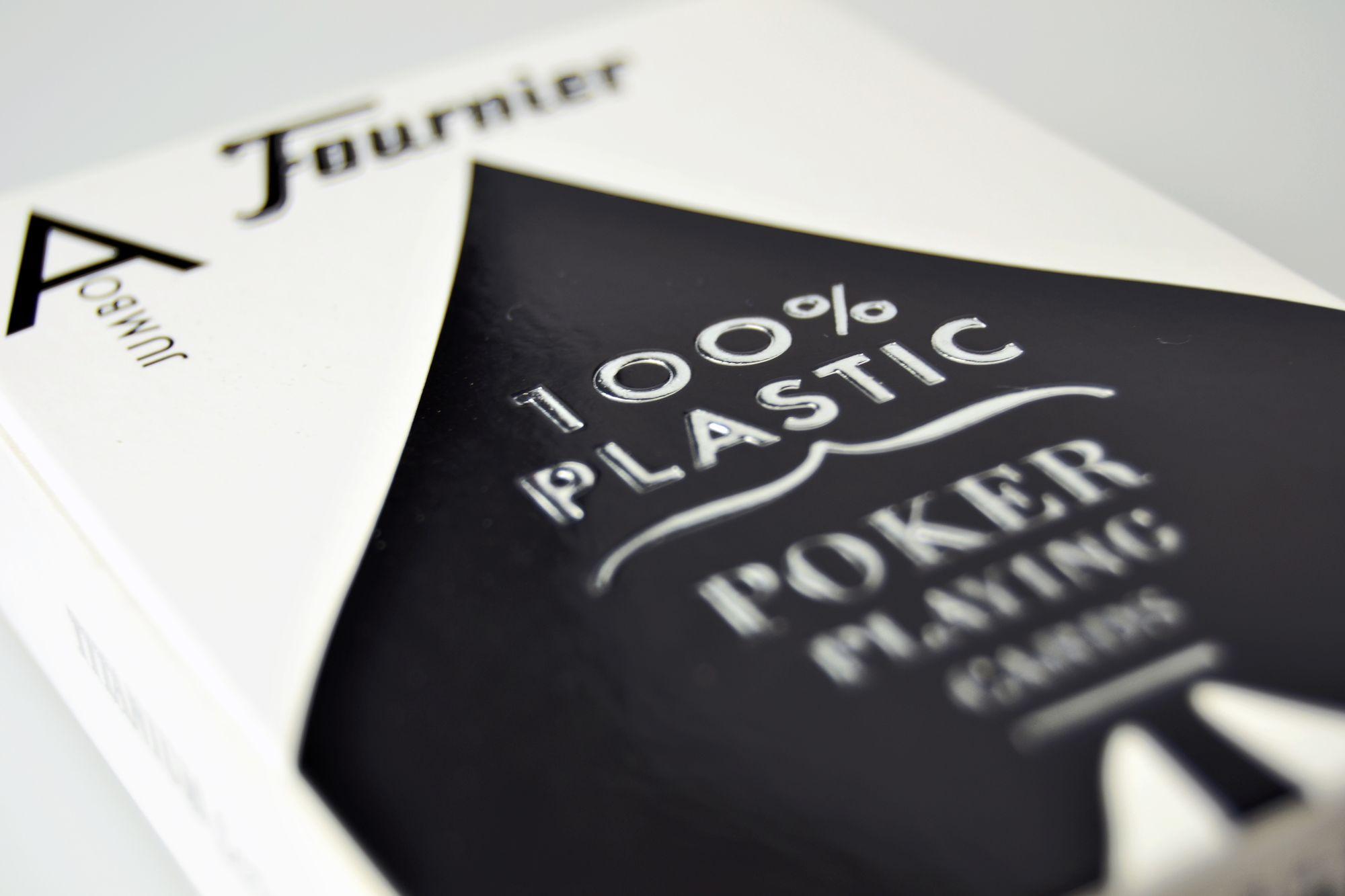 Les cartes 100% plastique